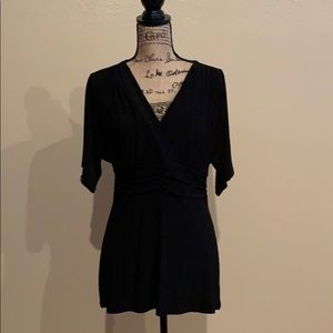 White House Black Market black blouse
